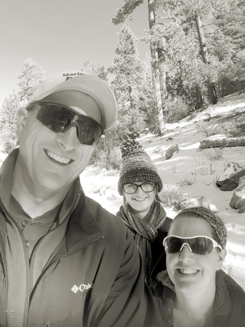Family picture at Big Bear