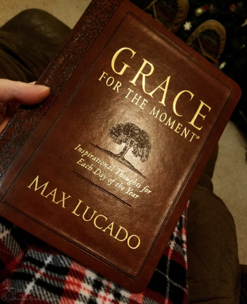 Reading Grace for the Moment before bed