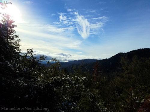 San Jacinto Mountains view