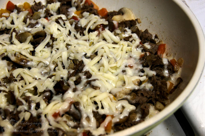 Cheesesteak filling