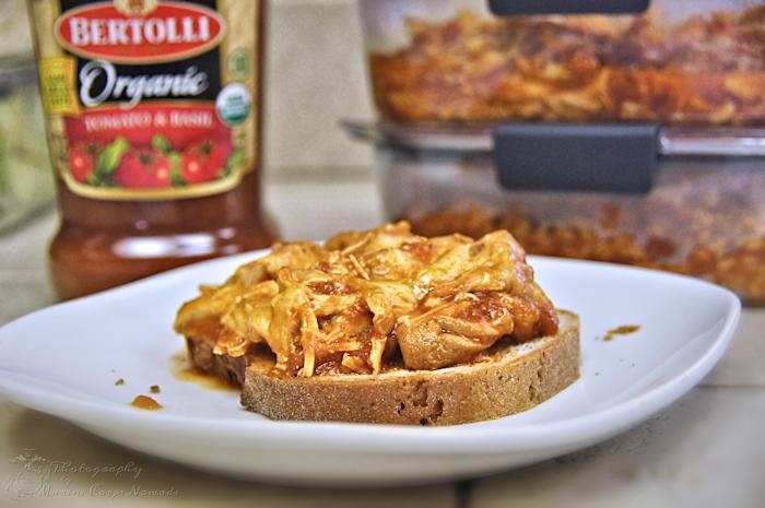 Gluten Free Chicken Parmesan Sandwich
