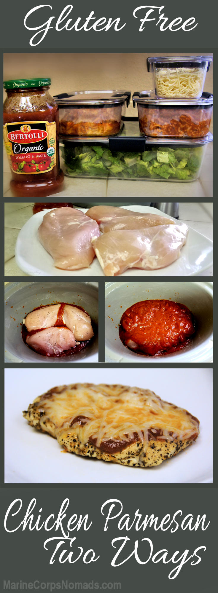 easy chicken parmesan two ways marine corps nomads
