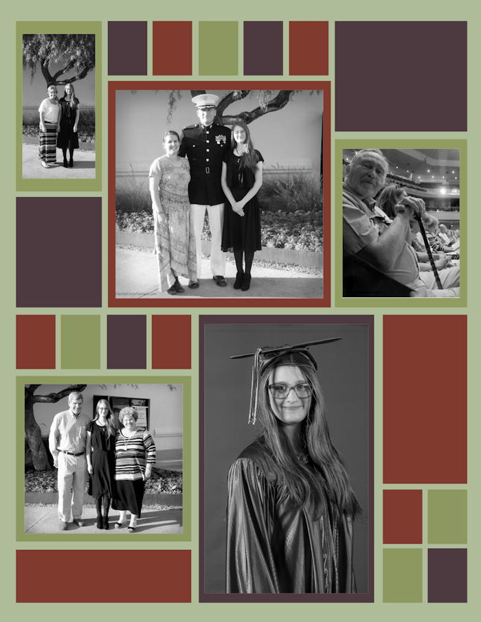 Making Meaningful Moments | Graduation Scrapbook | Marine Corps Nomads
