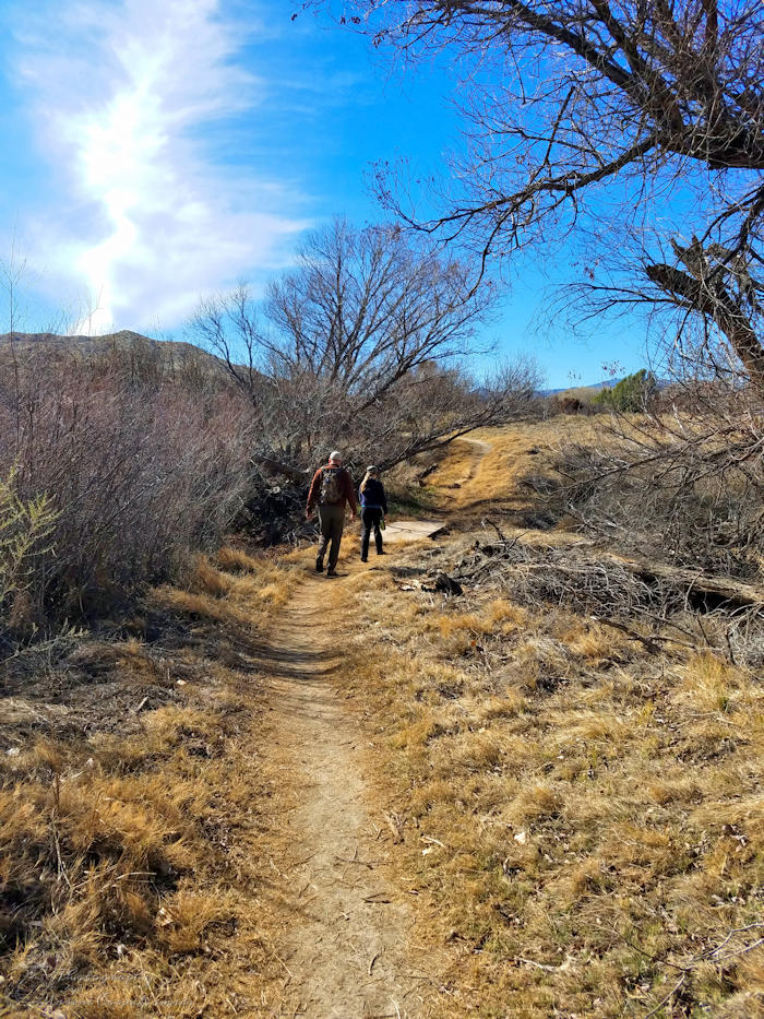 Hiking to Canyon Trail