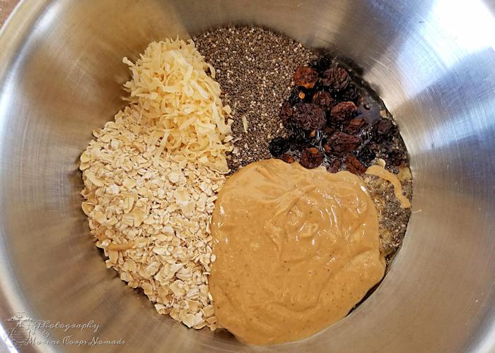 Gluten Free No Bake Protein Energy Bites Mix