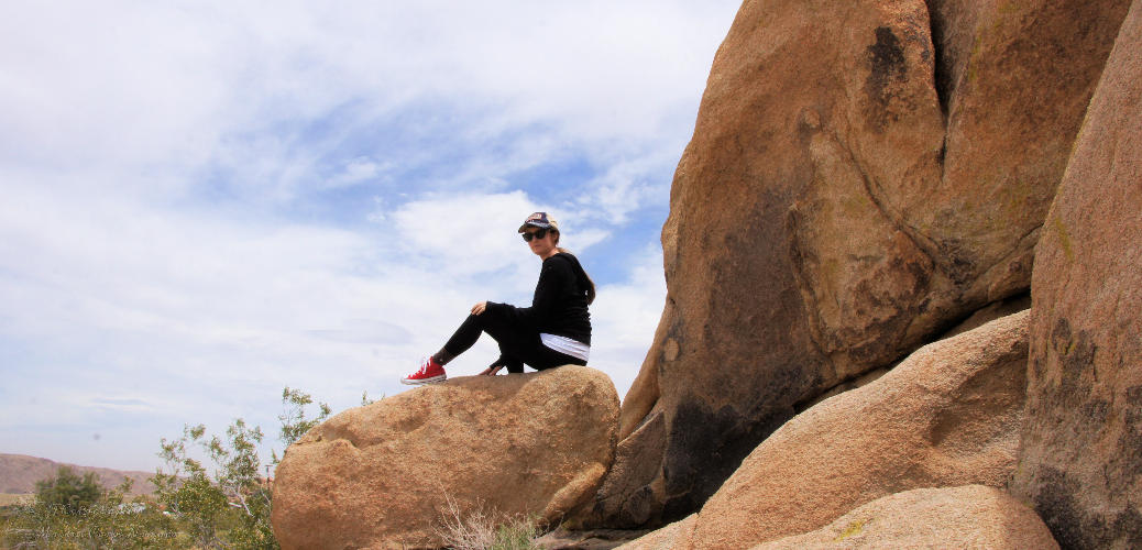 Exploring Joshua Tree with Pact Organic