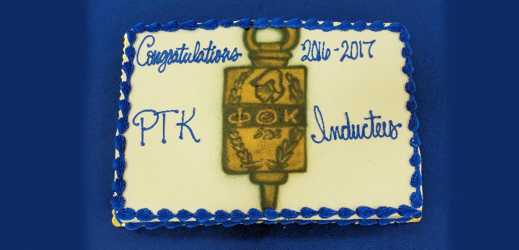 Phi Theta Kappa Cake