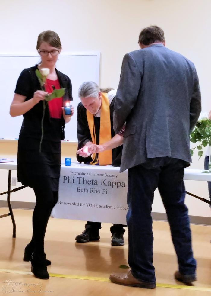 Phi Theta Kappa Rose
