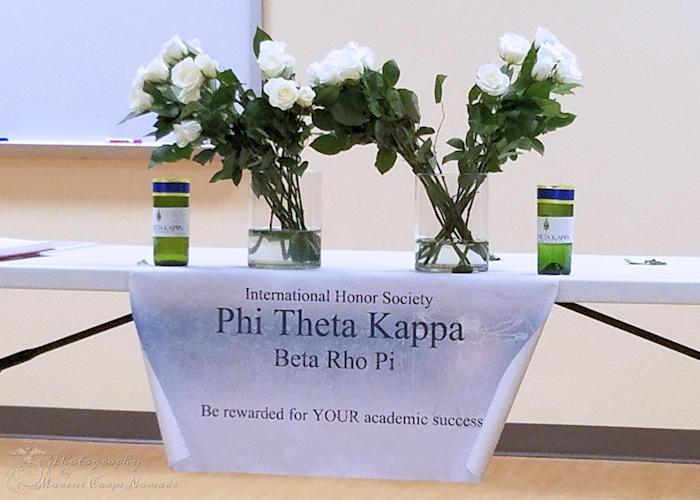 Phi Theta Kappa Table