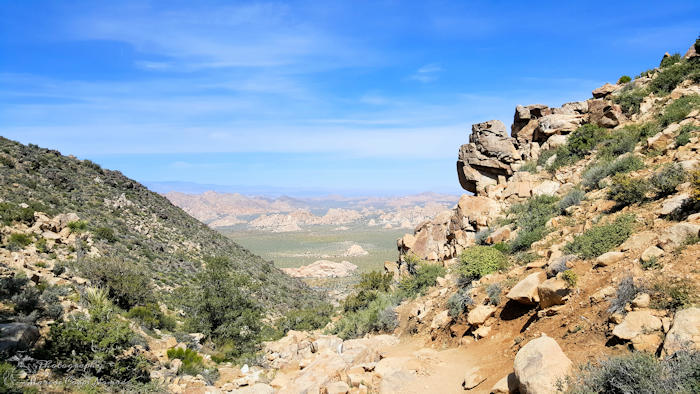 Ryan Mountain Trail Hike
