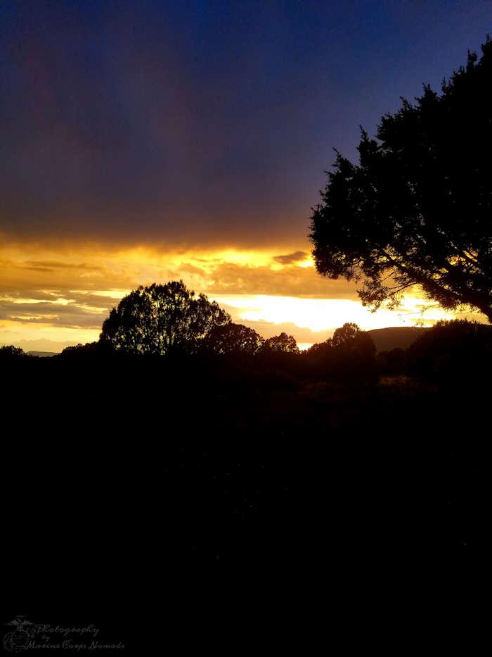 Sunset on the Homestead