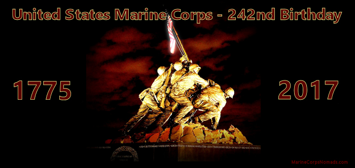 242nd USMC Birthday