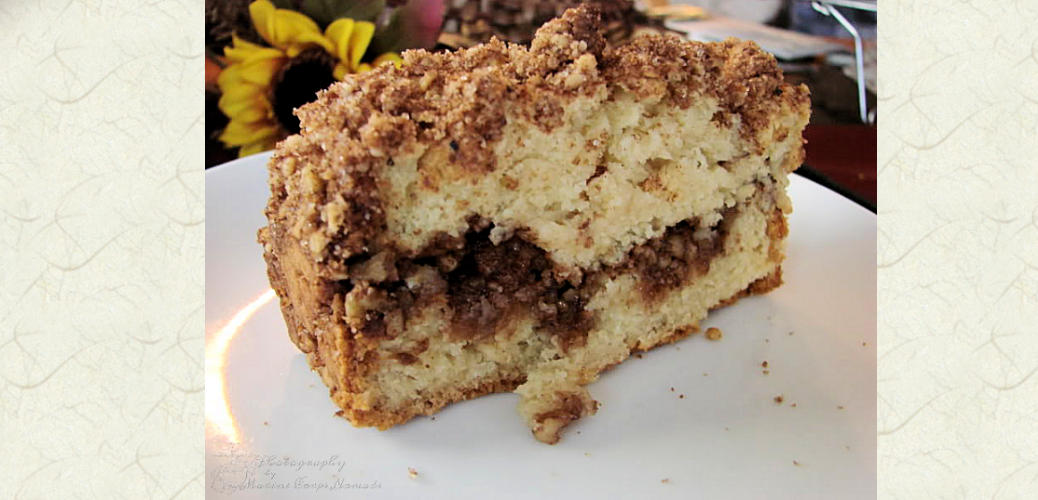 Gluten Free Sour Cream Coffee Cake Marine Corps Nomads
